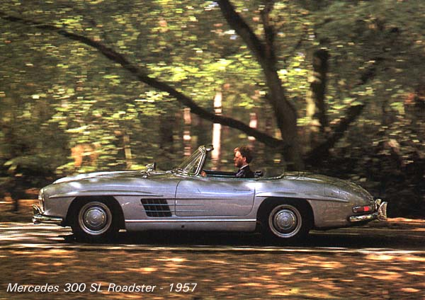 In 1957 Mercedes-Benz had to reinvent the 300 SL roadcar to stop loosing too