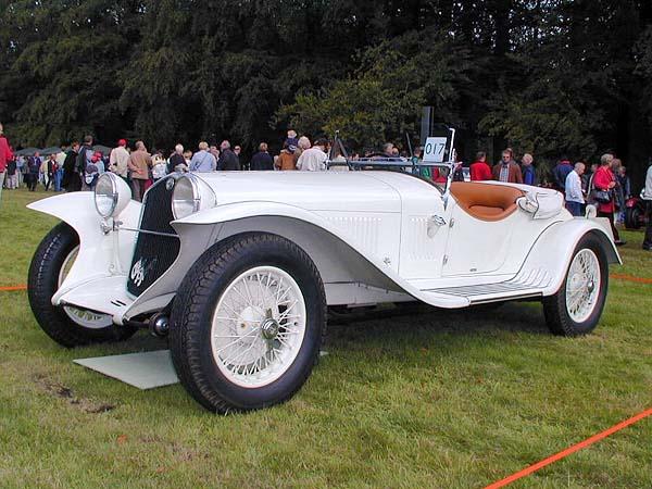 2007 Maserati Gs Zagato. alfa romeo 6c