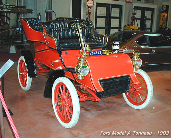 Early Ford - models from the years 1903 - 1908
