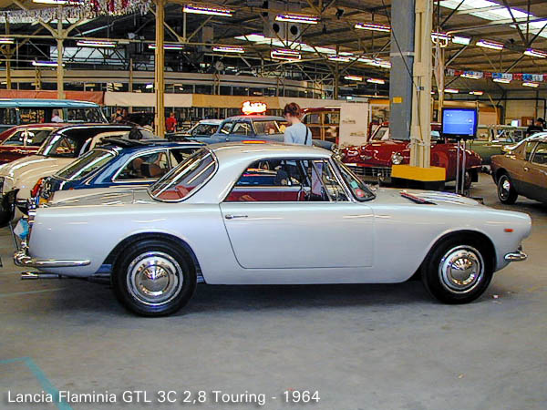 Already in 1963 a new engine was fitted in the GT.