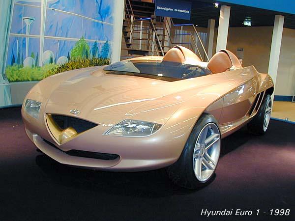 1998 Jaguar Xk180 Concept. Hyundai#39;s Euro 1 concept shows