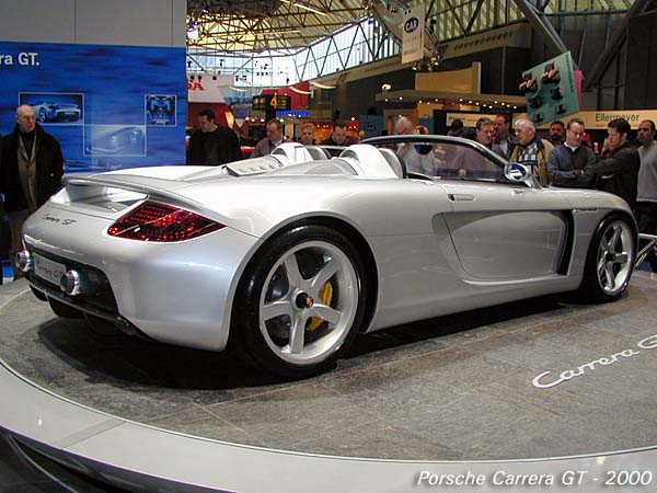 Carrera gt concept car