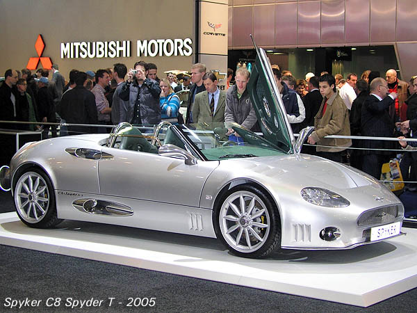 Spyker C8 Top Style