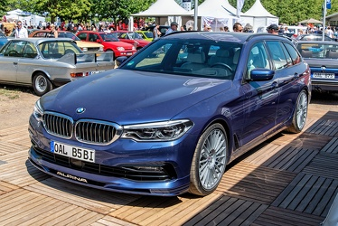 Alpina BMW B5 BiTurbo Touring G31 2018 fl3q