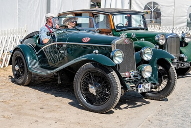 Lea Francis 12/40 HP P-Type special sports 1929 fr3q
