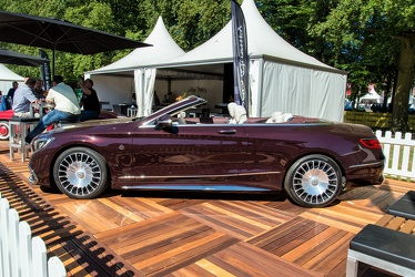Mercedes Maybach S 650 cabriolet 2018 side