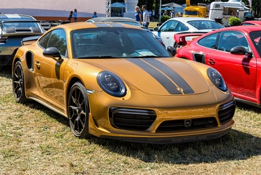 Porsche 911 (991) Turbo S Exclusive Series 2017 fr3q