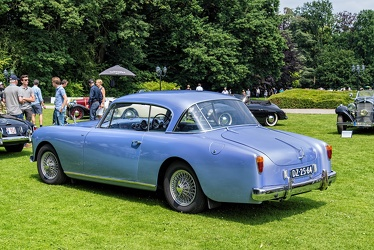 Alvis TC108/G 2-door saloon by Willowbrook 1956 r3q