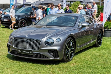 Bentley Continental GT S3 2018 fl3q