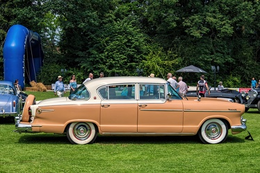 Hudson Hornet 6 Custom 4-door sedan 1955 side