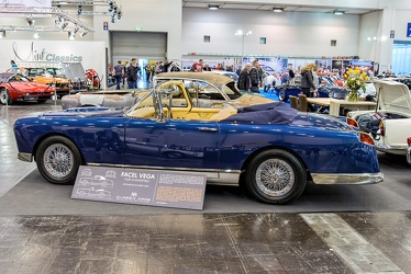 Facel Vega FV2B cabriolet replica 1956 side