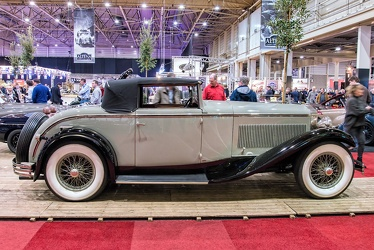Delage D8 cabriolet by Figoni 1930 side