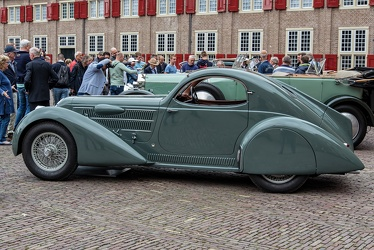 Lancia Astura S2 230 1933 aerodynamica coupe rebody by Castagna 1934 side