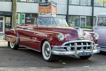 Pontiac Chieftain 8 DeLuxe convertible coupe 1950 fr3q