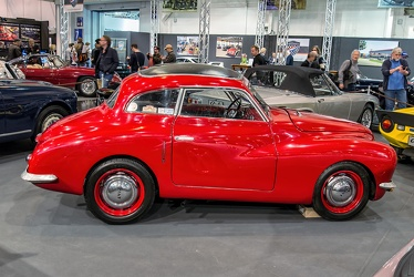 Fiat 500 A berlinetta by Enrico Maestri 1948 side
