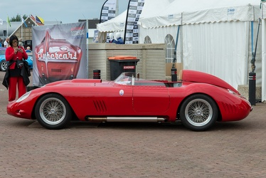 Maserati 450 S spider 1958 replica by Chris Lawrence side