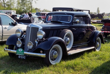 Hupmobile Series K-321 coupe 1933 fl3q