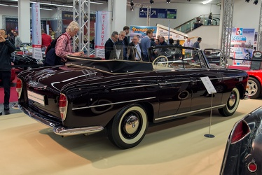 BMW 502 3200 S 4-door cabriolet by Autenrieth 1960 r3q