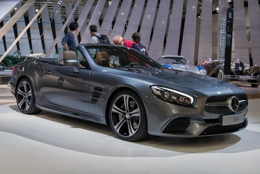 Mercedes SL 400 roadster 2016 fr3q