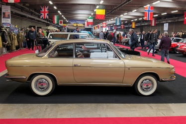 Fiat 1500 Sportinia coupe by Scioneri 1966 side