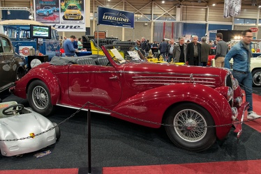 Delahaye 135MS cabriolet by Pennock 1948 side