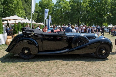 Bentley 8 Litre DHC by Richard Mead 1931 side