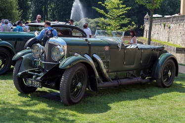 Bentley 8 Litre tourer by Vanden Plas 1931 fl3q