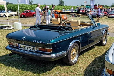 BMW 3.5 CSi cabriolet conversion by SiMa Power 1972 r3q