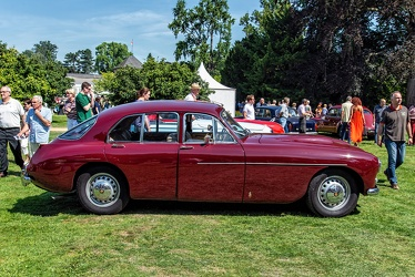 Bristol 405 4-door saloon 1955 side