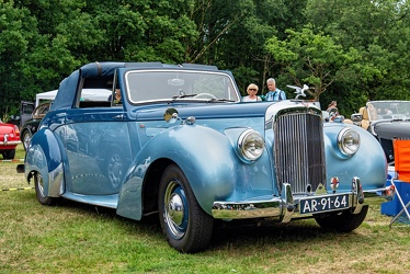 Alvis TA21 DHC by Tickford 1952 fr3q