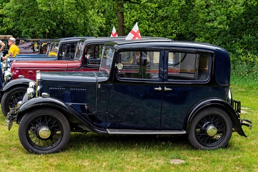 Austin 10 Sunshine saloon 1933 side