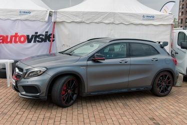 AMG Mercedes GLA 45 X156 2015 side