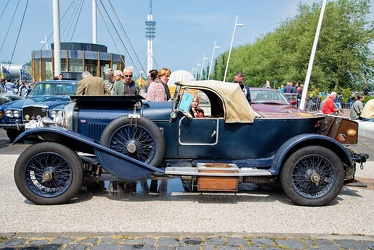 Bentley 3 Litre boattail 3-seater 1925 side
