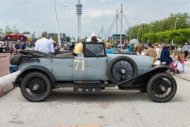 Bentley 3 Litre tourer by Gurney Nutting 1925 side