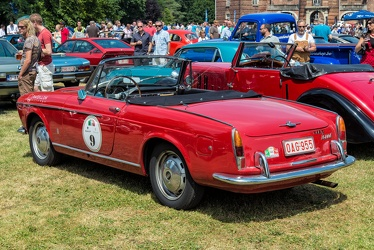Fiat 1600 S cabriolet S1 by Pininfarina 1962 r3q
