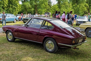 Glas 1700 GT coupe by Frua 1965 r3q