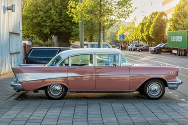 Chevrolet Bel Air 4-door sedan 1957 side