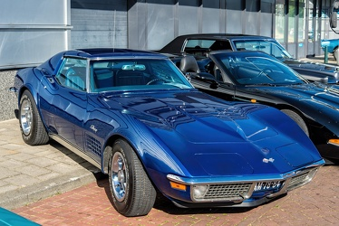 Chevrolet Corvette C3 Stingray coupe 1972 blue fr3q