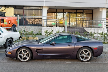Chevrolet Corvette C5 fastback coupe 1998 side