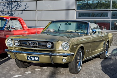 Ford Mustang S1 convertible coupe 1966 fl3q