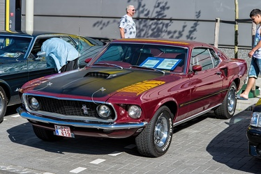Ford Mustang S1 Mach 1 1969 maroon fl3q