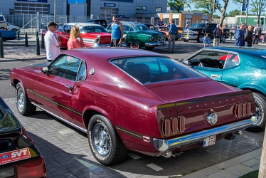 Ford Mustang S1 Mach 1 1969 maroon r3q