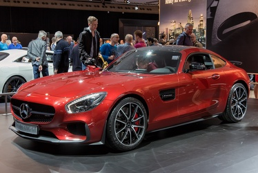 AMG Mercedes GT S C120 2015 red fl3q