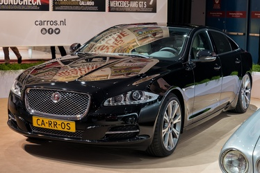 Jaguar XJ X351 Supercharged 2015 fl3q