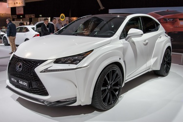 Lexus NX 300h F Sport by Will.i.am 2014 fl3q