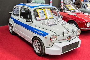 Abarth Fiat 1000 TC berlina corsa 1966 replica fr3q