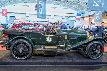 Bentley 3 Litre Speed Model tourer by Vanden Plas 1924 side