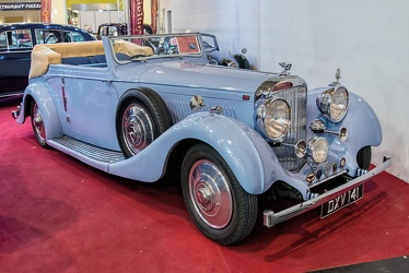 Bentley 4.25 Litre DHC by Hooper 1937 fr3q