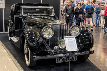 Bentley 4.25 Litre sedanca coupe by Hooper 1939 fr3q