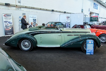 Delahaye 135 roadster by Chapron 1937 side